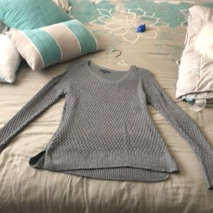 Knit American eagle v neck sweater